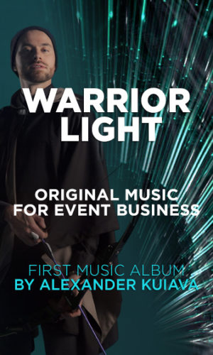 warrior light event music
