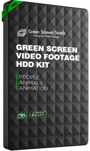 green screen footage kit