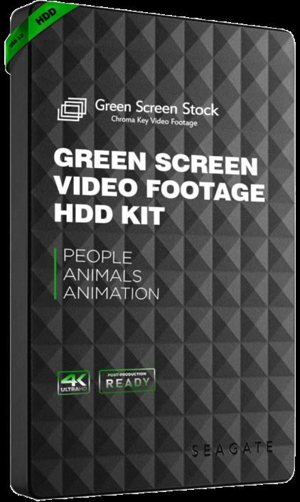 green screen footage kit